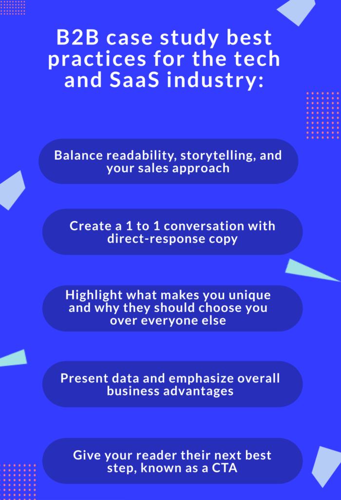 B2B case study best practices