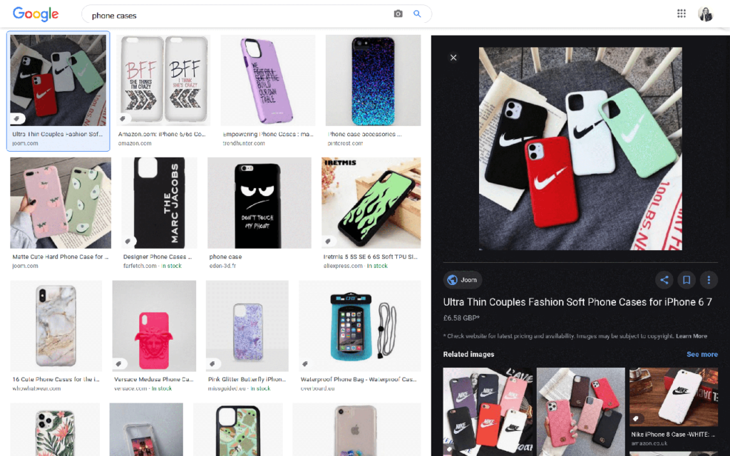 phone cases search