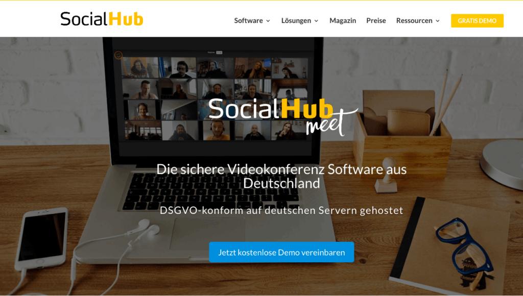 social hub video conference